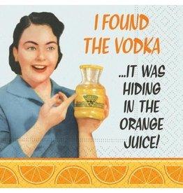 Design Design Napkins-In The Orange Juice
