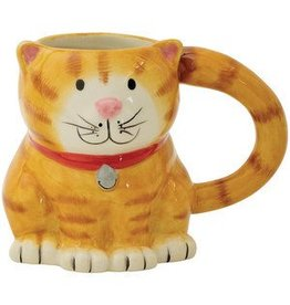 Boston Warehouse Cat Mug