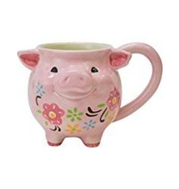 Boston Warehouse Mug Pig
