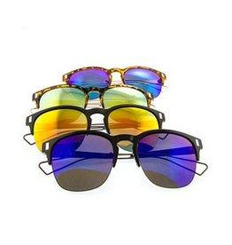 Half Rimmed Wayfarer  Sunglasses
