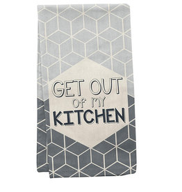 Wit Tea Towels Get Out