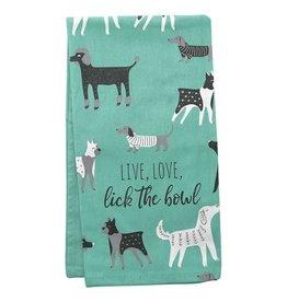 Karma Tea Towels Dog