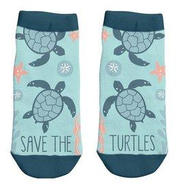 Karma Ankle Socks-Turtle