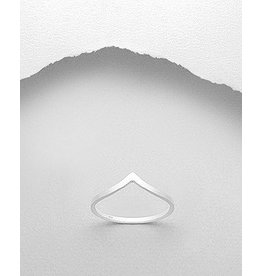Sterling Sterling Ring-Curved