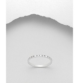 Sterling Sterling Ring- XOXO Ring