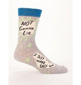 Blue Q Men's Socks-Not Gonna Lie
