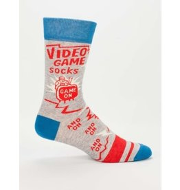 Blue Q Men's Socks-Video Game