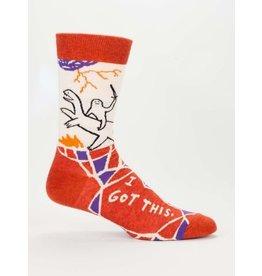 Blue Q Men's Socks- I Got This