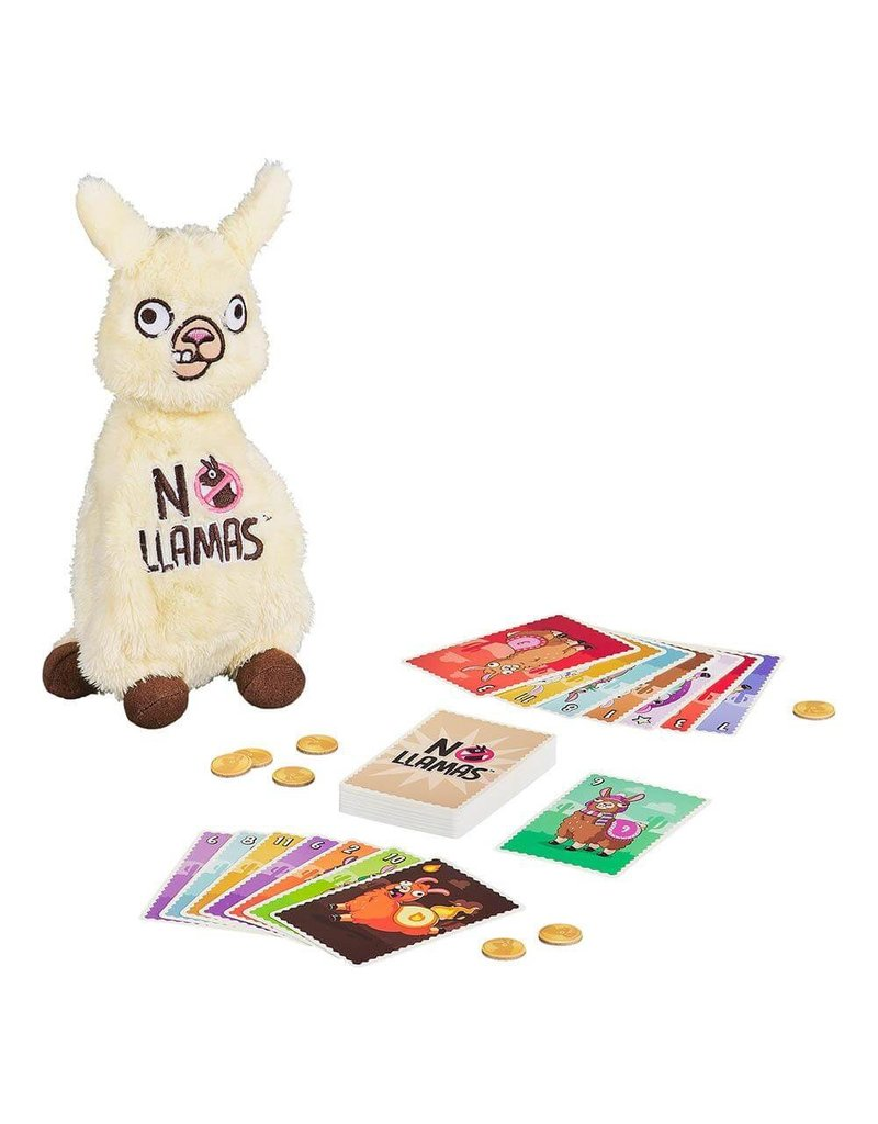 wild and wolf No llama Card Game
