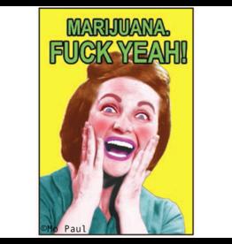 Ephemera Magnet-Marijuana