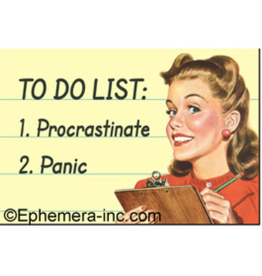 Ephemera Magnet To Do List: