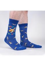 Sock it to me Men's Crew Top Banana