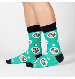 Sock it to me Men's Crew - Ra-Man