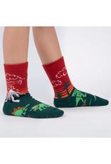 Sock it to me Junior Crew -Dinosaur Days