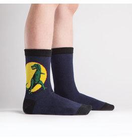 Sock it to me Junior Crew- T-rex