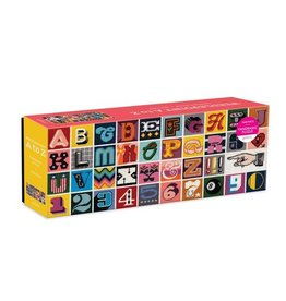 Galison Puzzle- Needlepoint A-Z