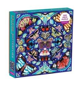 Galison Puzzle- Kaleido Butterflies