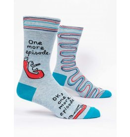 Blue Q Men's Socks-One more Episode
