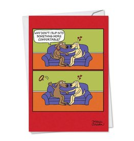 Noble Works Uncollared Love Valentine Card