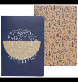 Danica Imports Notebook Set 2-Stay Wild