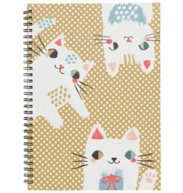 Danica Imports Notebook Spiral-Meow Meow