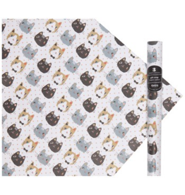 Danica Imports Flat  Wrap-Meow Meow