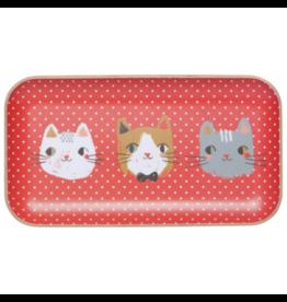 Danica Imports Tray 5x9-Meow Meow