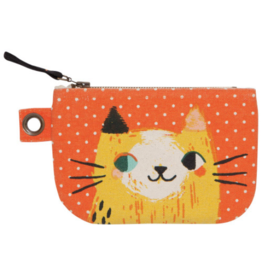 Danica Imports Zip Pouch Small-Meow Meow