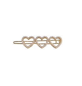 E&S Accessories Triple Hearts Barette
