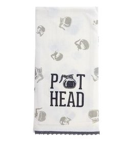 Karma Tea Towel-Pot Head
