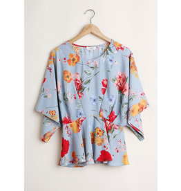 Cloudwalk Jamie Floral Kimono Top