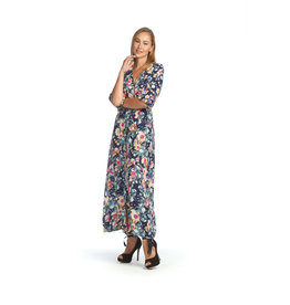 Papillon Nichole- Floral Button Dress
