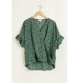 Cloudwalk Grace Dalmation Dots Blouse