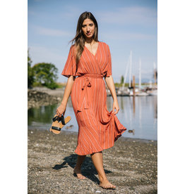 Papillon Maya- Linier Wrap Dress