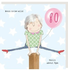 Rosie Made a Thing Card- Girl 80 Wild