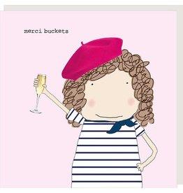Rosie Made a Thing Card-Merci Buckets