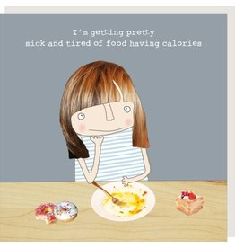 Rosie Made a Thing Card- Calories