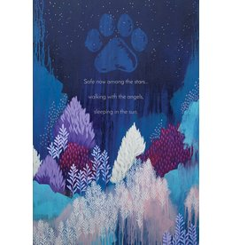 Safe Now Among The Stars Pet Sympathy Card