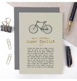 Coulson Macleod Ltd. Happy Birthday Super Cyclist Card