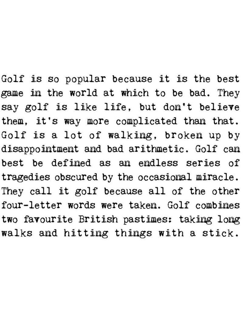 Coulson Macleod Ltd. Happy Birthday Golf Addict