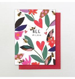 Stop The Clock Design Bee Mine Valentine Card