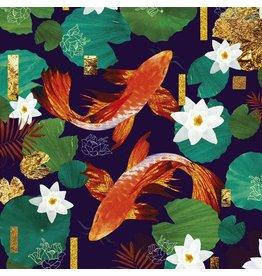Koi Fish Blank Card