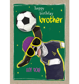 Hammond & Gower Card-Happy Birthday Brother