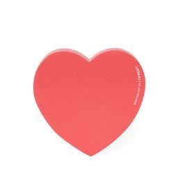 Legami Heart Adhesive Notepad