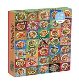 Galison Puzzle- Noodles For Lunch