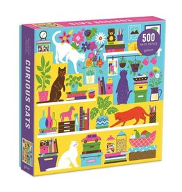 Galison Puzzle- Curious Cats