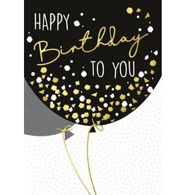 Card-Happy Birthday Balloon