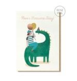 Stormy Knight Card-Roarsome Birthday
