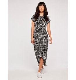 Apricot Melanie- Wrap Dress