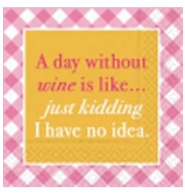 Design Design Napkin-Day Without Wine